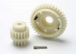 5384 Gear set, 2-speed wide ratio (2nd speed gear 38T, 13T-18T input gears, hardware)