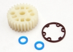 5414X Gear, center differential (Revo®)/ X-ring seals (2)/ gasket (1) (Replacement gear for 5414)