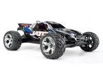 Blue Jato® 3.3:  1/10 Scale 2-Speed Nitro-Powered 2WD Stadium Truck with TQi 2.4GHz Radio System, Traxxas Link™ Wireless Module, and Traxxas Stability Management (TSM)