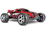 Red/Black Jato® 3.3:  1/10 Scale 2-Speed Nitro-Powered 2WD Stadium Truck with TQi 2.4GHz Radio System, Traxxas Link™ Wireless Module, and Traxxas Stability Management (TSM)