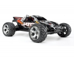 Yellow/Red Jato® 3.3:  1/10 Scale 2-Speed Nitro-Powered 2WD Stadium Truck with TQi 2.4GHz Radio System, Traxxas Link™ Wireless Module, and Traxxas Stability Management (TSM)