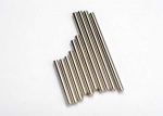 5521 Suspension pin set, complete (hardened steel, front & rear), 3x27mm (4), 3x35mm (2), 3x52mm (4)