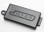 5524G Receiver cover (chassis top plate), Exo-Carbon finish (Jato®)