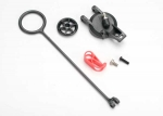 5547 Pull ring (1)/ fuel tank cap (1)/ engine shut-off clamp (1)/ 3x10 BCS (1)
