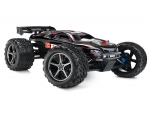 Black E-Revo:  1/10 Scale 4WD Electric Racing Monster Truck. Ready-to-Race® with TQi Traxxas Link Enabled 2.4GHz Radio System, EVX-2 ESC (fwd/rev), and Traxxas Stability Management (TSM)