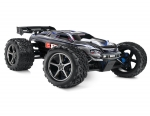 Silver E-Revo:  1/10 Scale 4WD Electric Racing Monster Truck. Ready-to-Race® with TQi Traxxas Link Enabled 2.4GHz Radio System, EVX-2 ESC (fwd/rev), and Traxxas Stability Management (TSM)