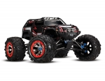 Black Summit:  1/10 Scale 4WD Electric Extreme Terrain Monster Truck with TQi Traxxas Link™ Enabled 2.4GHz Radio System