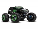 Green Summit:  1/10 Scale 4WD Electric Extreme Terrain Monster Truck with TQi Traxxas Link Enabled 2.4GHz Radio System