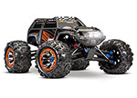 ORANGE Summit:  1/10 Scale 4WD Electric Extreme Terrain Monster Truck with TQi Traxxas Link™ Enabled 2.4GHz Radio System