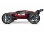 Red  E-Revo Brushless:  1/10 Scale 4WD Brushless Electric Racing Monster Truck with TQi 2.4GHz Traxxas Link Enabled Radio System and Traxxas Stability Management (TSM)