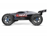 Silver E-Revo Brushless:  1/10 Scale 4WD Brushless Electric Racing Monster Truck with TQi 2.4GHz Traxxas Link Enabled Radio System and Traxxas Stability Management (TSM)