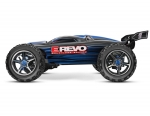 Blue E-Revo Brushless:  1/10 Scale 4WD Brushless Electric Racing Monster Truck with TQi 2.4GHz Radio System, Traxxas Link Wireless Module, and Traxxas Stability Management (TSM)