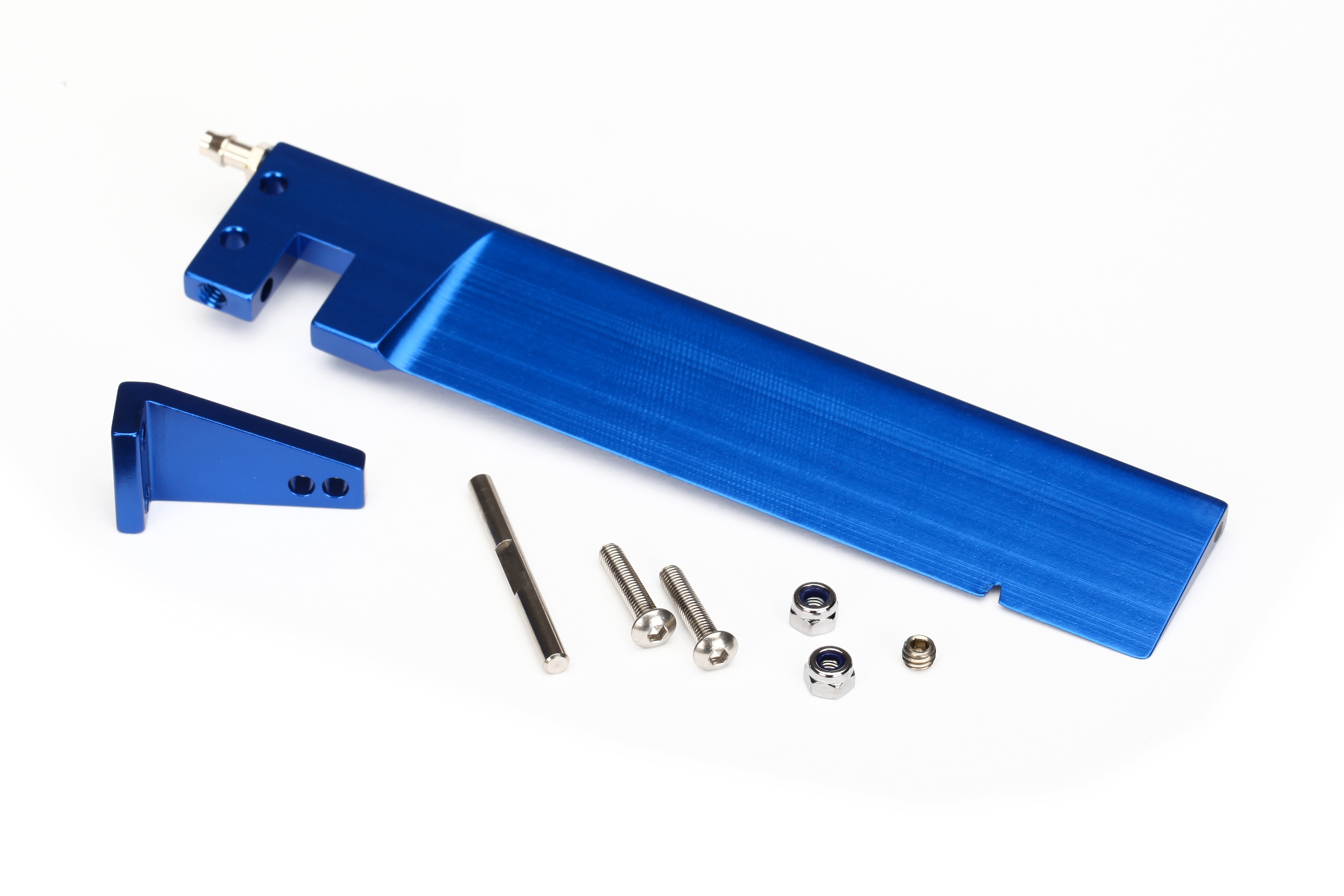 Traxxas 5779 Rudder (127.5 mm) /  rudder arm /  hinge pin /  3x15mm BCS (stainless) (2) /  NL 3.0 (2) /  4x3mm BCS (stainless ,  with threadlock) (1)