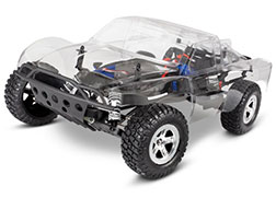 58014-4 Slash 2WD Unassembled Kit: 1/10-scale 2WD Short Course Racing Truck with TQ 2.4GHz radio system