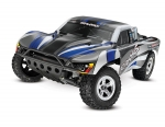Silver/Blue Slash: 1/10-Scale 2WD Short Course Racing Truck with TQ 2.4GHz radio system