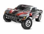 Silver/Red Slash: 1/10-Scale 2WD Short Course Racing Truck with TQ 2.4GHz radio system