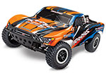 Orange/Blue Slash: 1/10-Scale 2WD Short Course Racing Truck with TQ 2.4GHz radio system