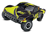 VR46 Slash: 1/10-Scale 2WD Short Course Racing Truck with TQ 2.4GHz radio system