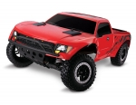 Red Ford Raptor: 1/10-Scale Ford Raptor with TQ 2.4GHz radio system