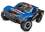 Blue Slash VXL:  1/10 Scale 2WD Short Course Racing Truck with TQi Traxxas Link™ Enabled 2.4GHz Radio System, On-Board Audio, & Traxxas Stability Management (TSM)®