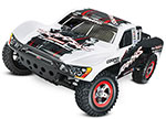 White Slash VXL:  1/10 Scale 2WD Short Course Racing Truck with TQi Traxxas Link™ Enabled 2.4GHz Radio System, On-Board Audio, & Traxxas Stability Management (TSM)®