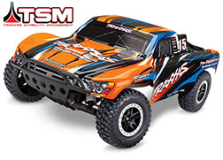 58076-4 Slash VXL:  1/10 Scale 2WD Short Course Racing Truck with TQi Traxxas Link™ Enabled 2.4GHz Radio System & Traxxas Stability Management (TSM)®