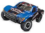 Blue Slash VXL:  1/10 Scale 2WD Short Course Racing Truck with TQi Traxxas Link™ Enabled 2.4GHz Radio System & Traxxas Stability Management (TSM)®