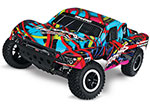 Hawaiian Slash VXL:  1/10 Scale 2WD Short Course Racing Truck with TQi Traxxas Link™ Enabled 2.4GHz Radio System & Traxxas Stability Management (TSM)®