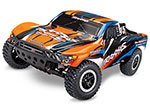 Blue & Orange Slash VXL:  1/10 Scale 2WD Short Course Racing Truck with TQi Traxxas Link™ Enabled 2.4GHz Radio System & Traxxas Stability Management (TSM)®