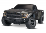 Black Ford F-150 Raptor: 1/10 Scale 2WD Ford F-150 Raptor. Ready-To-Race® with TQ 2.4GHz radio system and XL-5 ESC (fwd/rev).  Includes: 7-Cell NiMH 3000mAh Traxxas® battery.