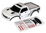 5815X Body, Ford Raptor®, white (first generation) (painted, decals applied)
