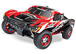 RED Slayer Pro 4X4: 1/10-Scale Nitro-Powered 4WD Short Course Racing Truck with TQi Traxxas Link™ Enabled 2.4GHz Radio System & Traxxas Stability Management (TSM)®