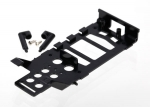 6326 Main frame, battery holder (1)/ canopy mounting posts (2)/ screws (2)
