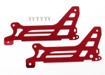 6327 Main frame, side plate, outer (2) (red-anodized) (aluminum)/ screws (6)