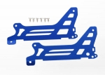 6328 Main frame, side plate, outer (2) (blue-anodized) (aluminum)/ screws (6)