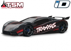 64077-3 XO-1®: 1/7 Scale AWD Supercar with TQi 2.4GHz Radio System, Traxxas Link™ Wireless Module, & Traxxas Stability Management (TSM)®