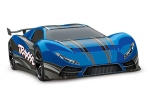 Blue XO-1: 1/7 Scale AWD Supercar with TQi 2.4GHz Radio System, Traxxas Link Wireless Module, & Traxxas Stability Management (TSM)