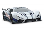 White XO-1®: 1/7 Scale AWD Supercar with TQi 2.4GHz Radio System, Traxxas Link™ Wireless Module, & Traxxas Stability Management (TSM)®