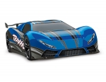 Blue XO-1: 1/7 Scale AWD Supercar with TQi 2.4GHz Radio System & Traxxas Link Wireless Module