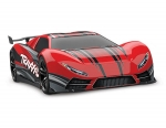 Red XO-1: 1/7 Scale AWD Supercar with TQi 2.4GHz Radio System & Traxxas Link Wireless Module