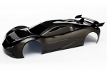 6411X Body, XO-1®, black (painted, decals applied, assembled with wing)