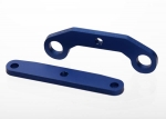 6423 Bulkhead tie bars, front & rear, aluminum (blue-anodized)