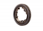 6448R Spur gear, 50-tooth, steel (wide-face, 1.0 metric pitch)