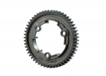 6449R Spur gear, 54-tooth, steel (wide-face, 1.0 metric pitch)