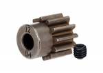 6485X Gear, 12-T pinion (1.0 metric pitch) (fits 5mm shaft)/ set screw (compatible with steel spur gears)