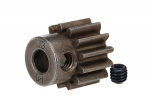 6486X Gear, 13-T pinion (1.0 metric pitch) (fits 5mm shaft)/ set screw (compatible with steel spur gears)