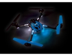 Blue LaTrax® Alias®: Quad Rotor Helicopter, Ready-To-Fly with 2.4GHz radio system, 650mAh LiPo battery, and single USB-powered charger.