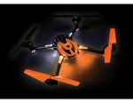 Orange LaTrax® Alias®: Quad Rotor Helicopter. Ready-To-Fly with 2.4GHz radio system, 650mAh LiPo battery, and single USB-powered charger.