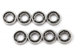 6642 Bearings, 3x6x2mm (8)