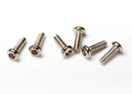 6643 Screws, 1.6x5mm button-head machine (hex drive) (6)
